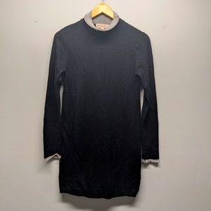PHILOSOPHY Long Sleeve Black Dress